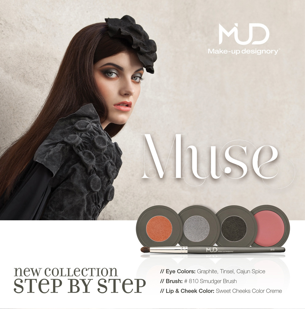 "In September, MUD announced the launch of their Fall/Winter look, the ""Muse"". But how does a final look make it into the pages of the latest MUD Art ..."