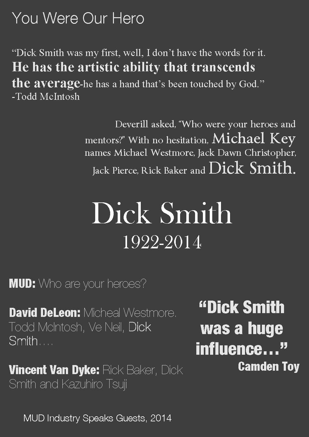 dick smith industry speaks quotes