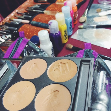 Prep face with Embryollisse and MUD Cream Foundation.