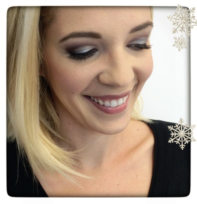 Complete the look with Mascara, Mauve Cheek Color and Java Lip Glaze